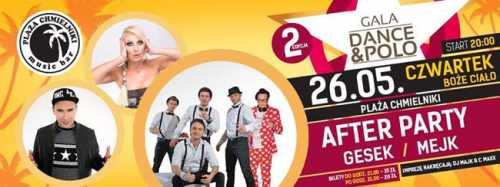 Plaża Chmielniki Gala Dance - Polo II Edycja (26.05.2016)