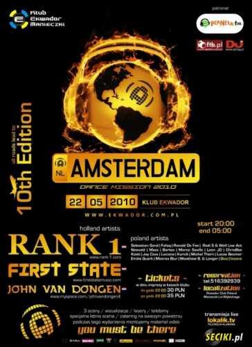 Ekwador Manieczki - Amsterdam Dance Mission 2010 - 22.05.2010