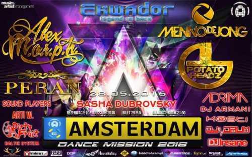 Amsterdam Dance Mission 2016 - ADM (28.05)