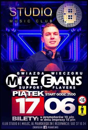 Klub Studio 8 (Mielec) - Mike Evans (17.06.2016)