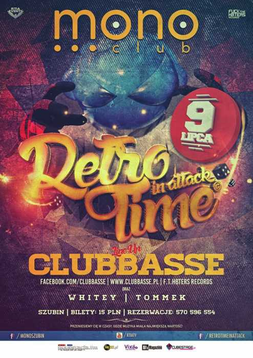 Klub Retro Time In Attack, Mono Club Szubin - Najnowsze Sety