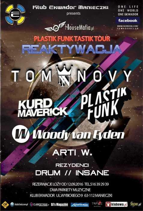 Ekwador Manieczki pres.TOM NOVY / Plastik Funk / Kurd Maverick / Woody van  ...