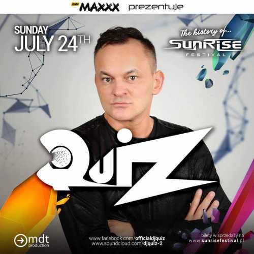 Sunrise Festival 2016 - Dj Quiz (24.07.2016)