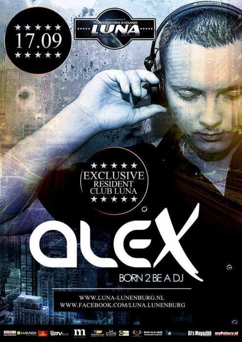 Klub Luna (Lunenburg, NL) - Dj Alex (17.09.2016)