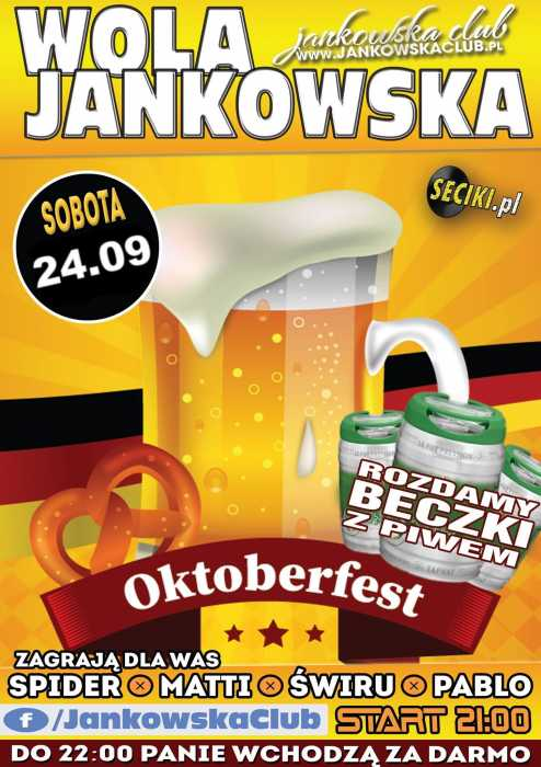 Jankowska Club (Wola J.) - OKTOBERFEST (24.09.16)