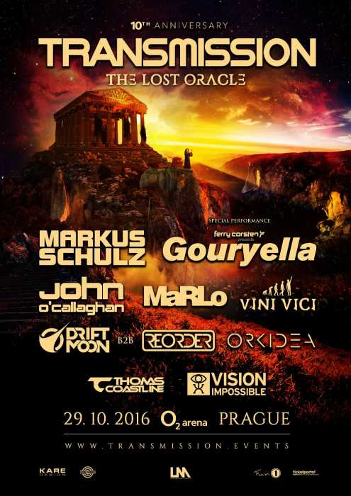 Transmission 2016 (Praga) - The Lost Oracle (29.10.16)