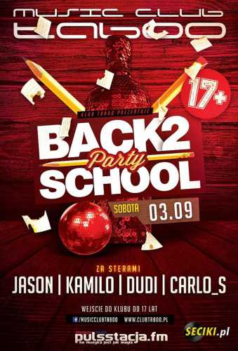 Music Club Taboo (S.Błotnica) - Old School (03.09.16)