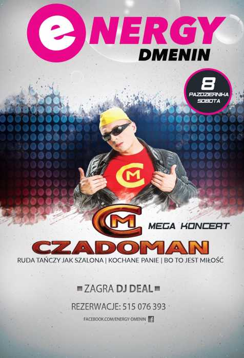 Energy (Dmenin) - KONCERT CZADOMAN (8.10.2016)