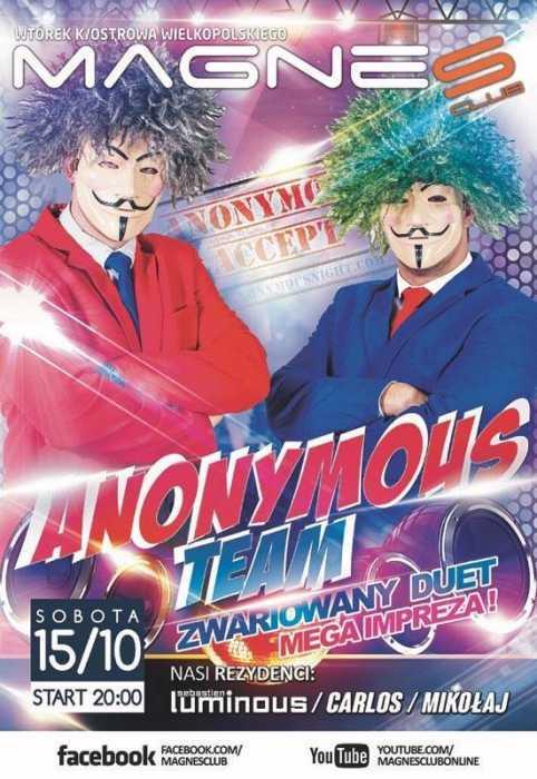 Magnes Club (Wtórek k.Ostrowa) -Anonymous Team (15.10.16)