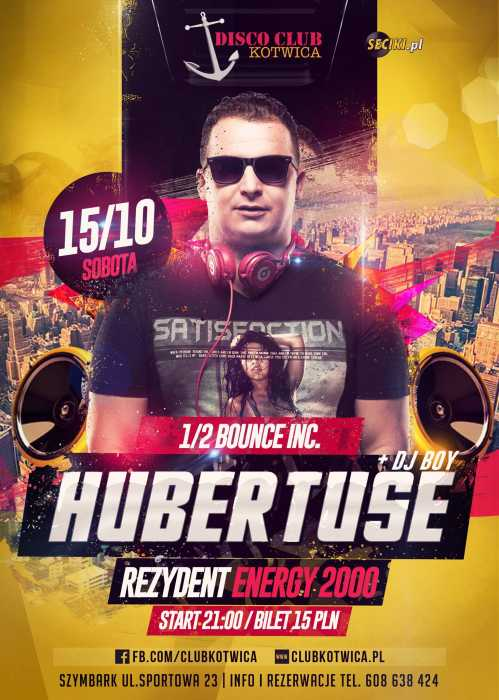 Disco Club Kotwica (Szymbark) - DJ Hubertuse (15.10.2016)