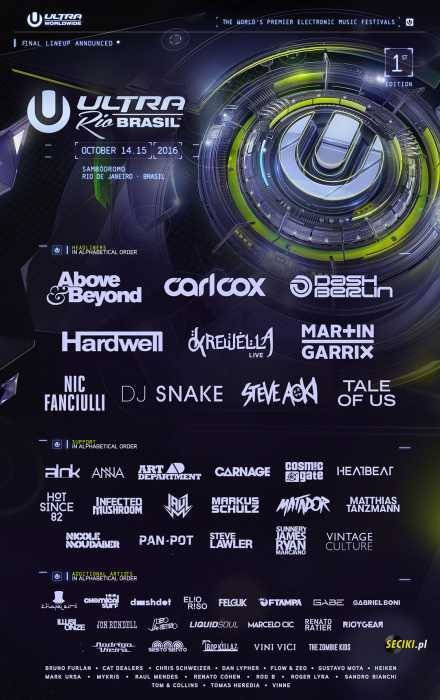 Klub Ultra Music Festival - Najnowsze Sety