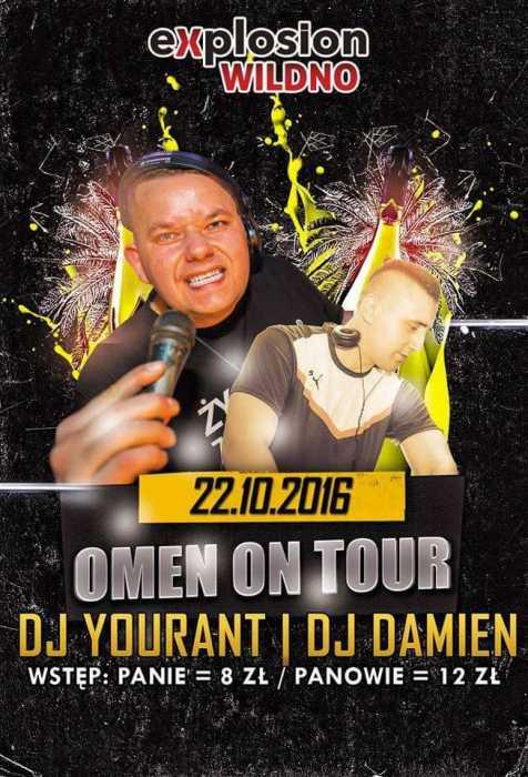 Klub Explosion (Wildno) - Omen On Tour Edycja II (22.10.16)
