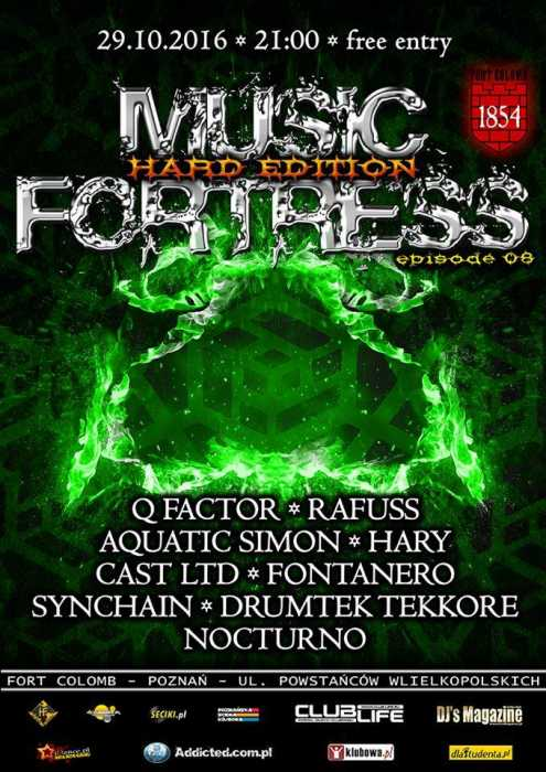 Fort Colomb (Poznań) - Music Fortress - Hard Edition (29.10.16)