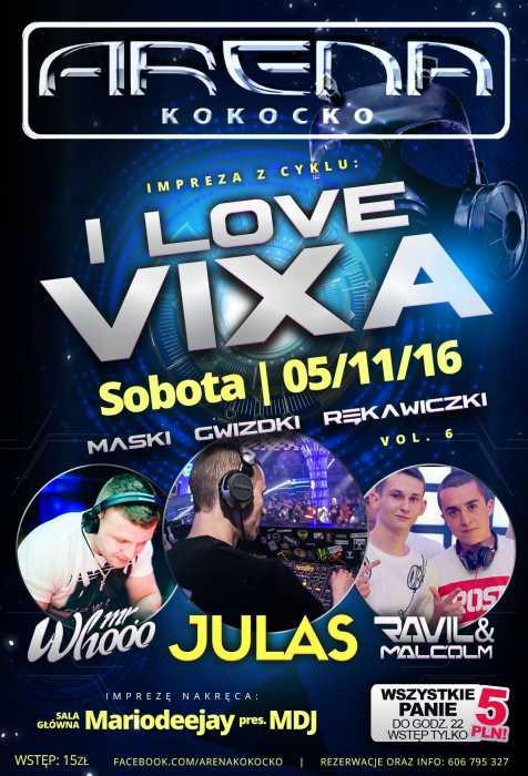 Arena Kokocko - I LOVE VIXA (5.11.2016)