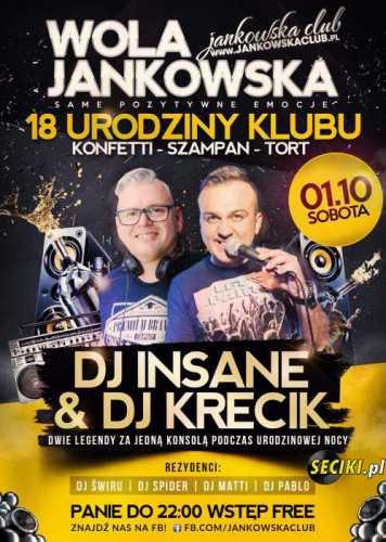 Jankowska Club (Wola J.) -Dj Matti (01.10.2016)