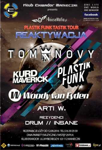 Ekwador (Manieczki) - Plastik Funk (17.09.2016)