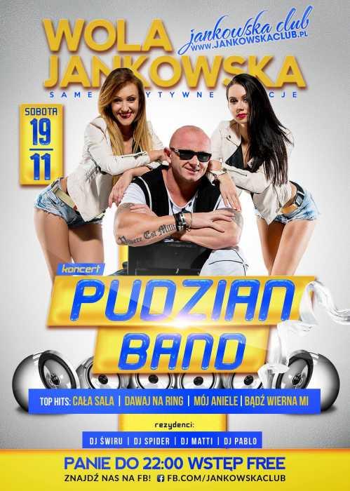 Jankowska Club (Wola Jankowska) - Pudzian Band (19.11.16)