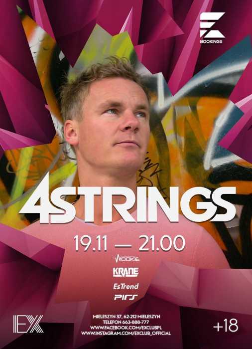 Ex Club (Mieleszyn) -  DJ 4 Strings (19.11.16)