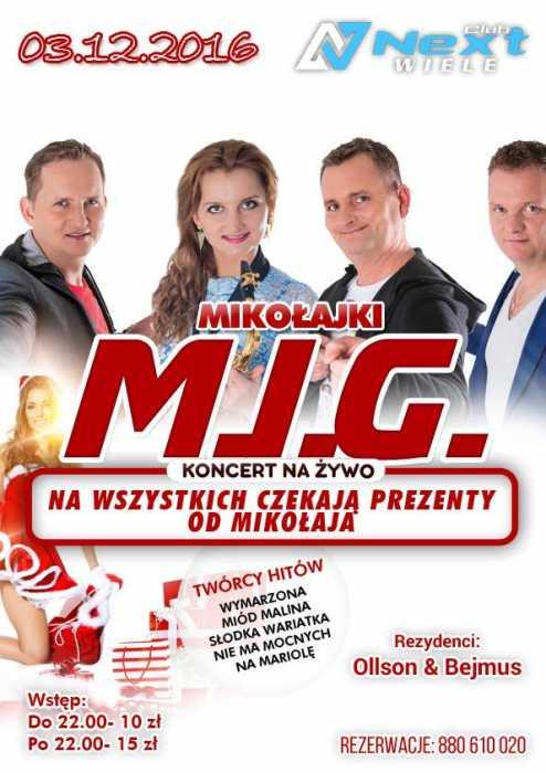 Next Club (Wiele) - Koncert Mig (3.12.2016)