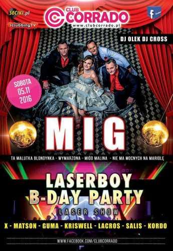 Corrado (Suchowola) - Laserboy B-Day Party (05.11.16)