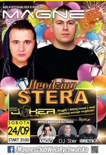 Klub Magnes (Wola R.) - DJ Ster & Kazzz  (24.09.16)