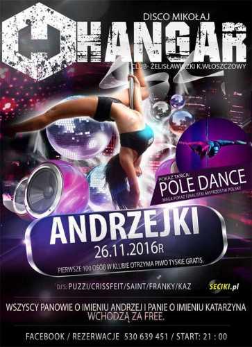 Hangar (Żelisławiczki) - Dj Kaz (26.11.2016)