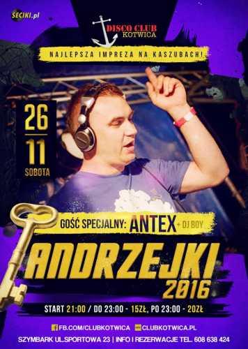 Disco Club Kotwica (Szymbark) - Dj Antex (26.11.16)