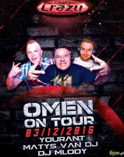 Crazy (Gołębiewo) - Omen On Tour (03.12.2016)