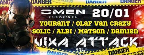 Omen (Płośnica) - Vixa Attack vol.1 (20.01.2017)