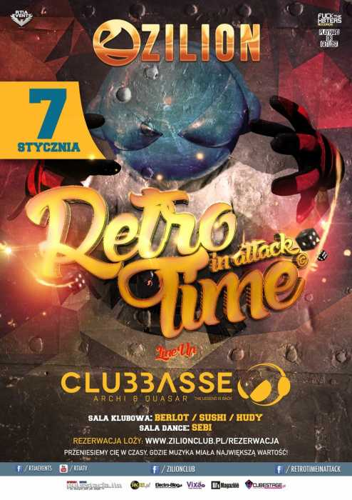Zilion (Wrzelowiec) - Retro Time In Attack (07.01.2017)