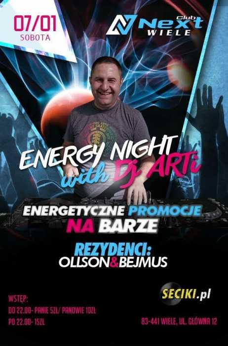 Next Club (Wiele) - Energy Night with Dj ARTi (07.01.2017)