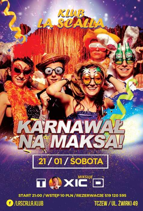 Nadchodzace Imprezy - kluby, festiwale, plenery