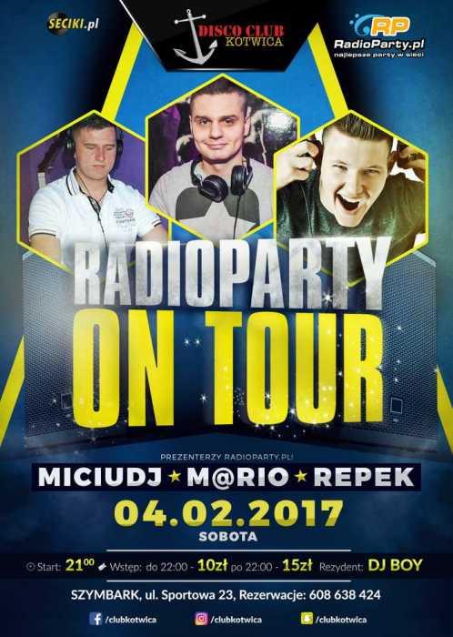 Club Kotwica (Szymbark) - RadioParty - On Tour (4.02.2017)