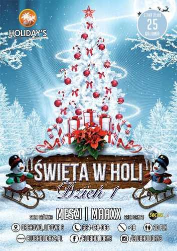 Holidays (Orchowo) - Meszi (25-26.12.2016)