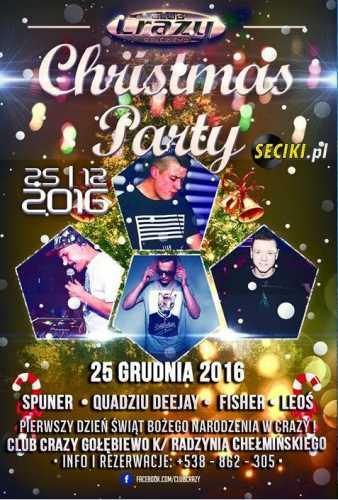 Crazy Club (Gołębiewo) - I Dzień Swiąt (25.12.2016)