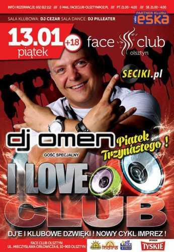 Face Club Olsztyn - Dj Cezar (13.01.2017)