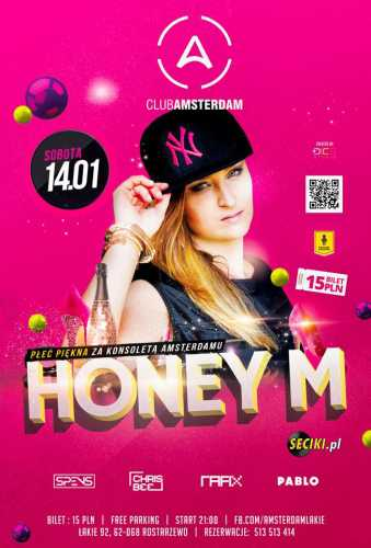 Amsterdam (Łąkie) - Chris Bee & Honey M (14.01.17)