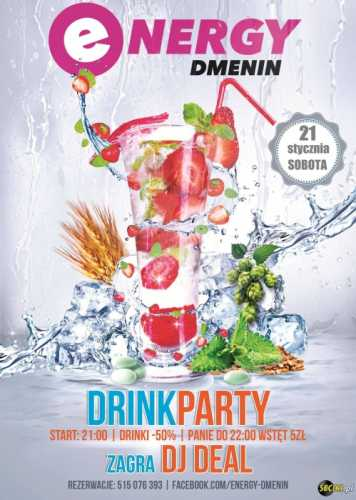 Energy Dmenin - DRINK PARTY (21.01.2017)