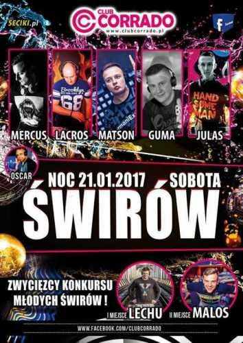 Corrado (Suchowola) - Noc Świrów (21.01.2017)