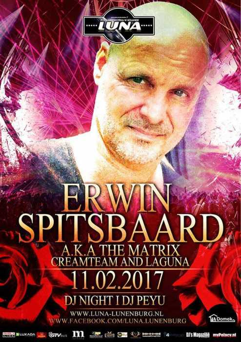 Luna (Lunenburg) - ERWIN SPITSBAARD A.K.A THE MATRIX CREAMTEAM AND LAGUNA (11.02.2017)