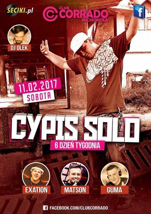 Corrado (Suchowola) - Cypis Solo (11.02.2017) - kluby, festiwale, plenery, klubowa muza, disco polo