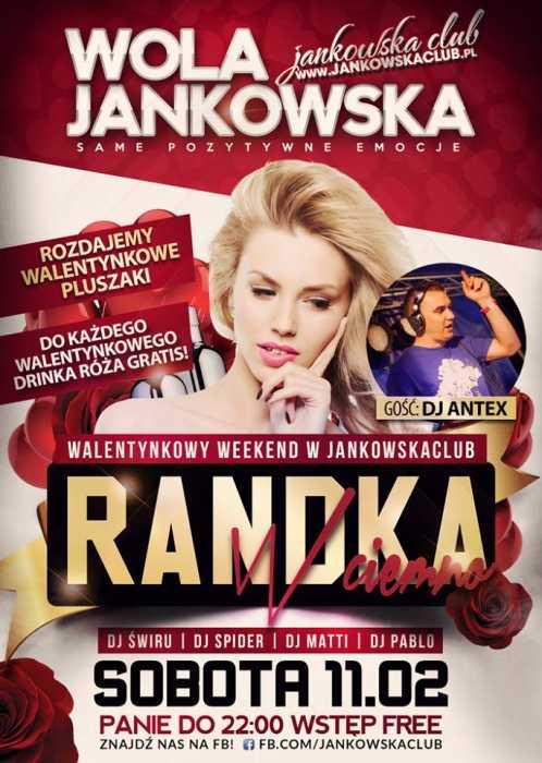Jankowska Club (Wola J.) - Randka W Ciemno (11.02.17) - kluby, festiwale, plenery, klubowa muza, disco polo