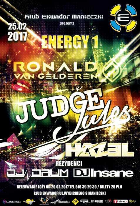 Ekwador Manieczki - ENERGY 1 (25.02.2017) - kluby, festiwale, plenery, klubowa muza, disco polo
