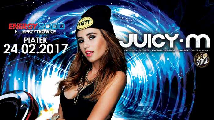 Energy 2000 (Przytkowice) - JUICY M. (24.02.2017) - kluby, festiwale, plenery, klubowa muza, disco polo