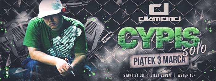 Diamond (Biała Wieś) - Cypis Solo (03.03.17) - kluby, festiwale, plenery, klubowa muza, disco polo