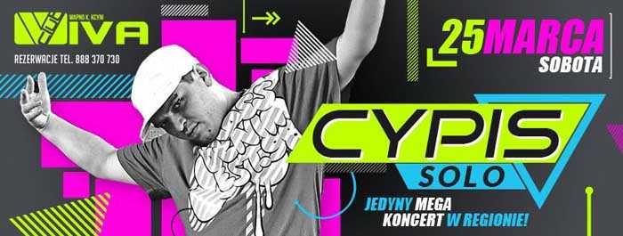 Viva Wapno k. Kcyni - Cypis Solo (25.03.17) - kluby, festiwale, plenery, klubowa muza, disco polo