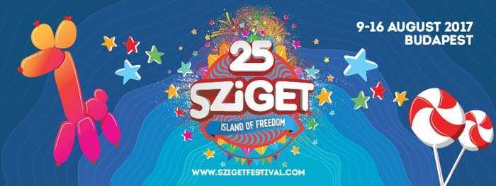 Sziget Festival 2017 - Island of Freedom (9-16.08) - kluby, festiwale, plenery, klubowa muza, disco polo