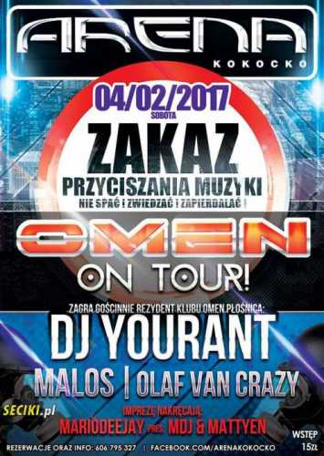 Arena (Kokocko) - OMEN ON TOUR  (04.02.2017)