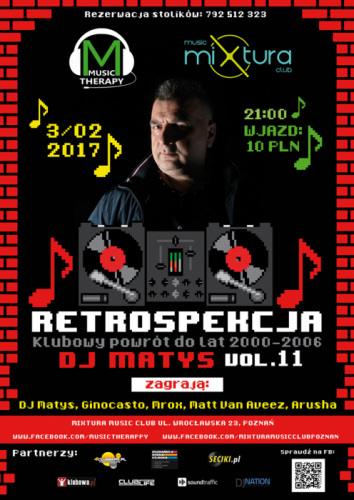 Mixtura Music (Poznań) - Retrospekcja vol.11 (03.02.17)