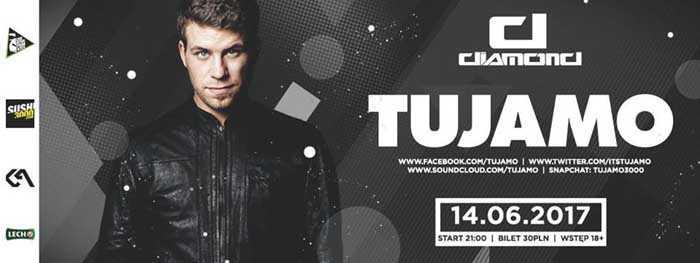 Tujamo w Diamond Klub (14.06.2017) - kluby, festiwale, plenery, klubowa muza, disco polo
